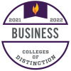 Colleges of Distinction Business 2021-2022