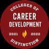Colleges of Distinction Career Development 2021-2022