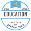 Colleges of Distinction Education 2021-2022