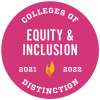 Colleges of Distinction Equity & Inclusion 2021-2022